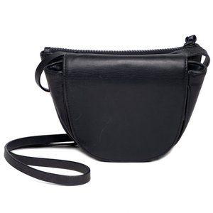 Steven Alan navy blue leather crossbody handbag